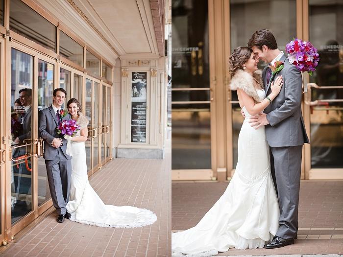 Jewel Tone Winter Pittsburgh Wedding - Beth Insalaco Photography