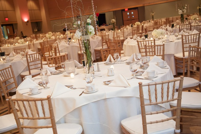 Blush Ballroom Pittsburgh Wedding by TimeSmart Images Featured on Burgh Brides