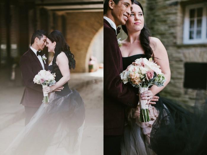 Edgy Romantic Pittsburgh Wedding at the Longue Vue Club - Beth Insalaco Photography