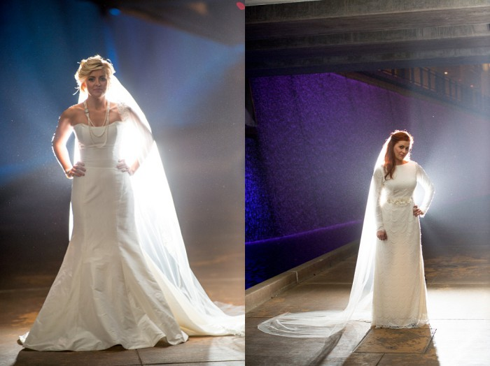 Downtown Pittsburgh Bridal Portraits Styled Shoot from Dave DiCello Photography Featured on Burgh Brides