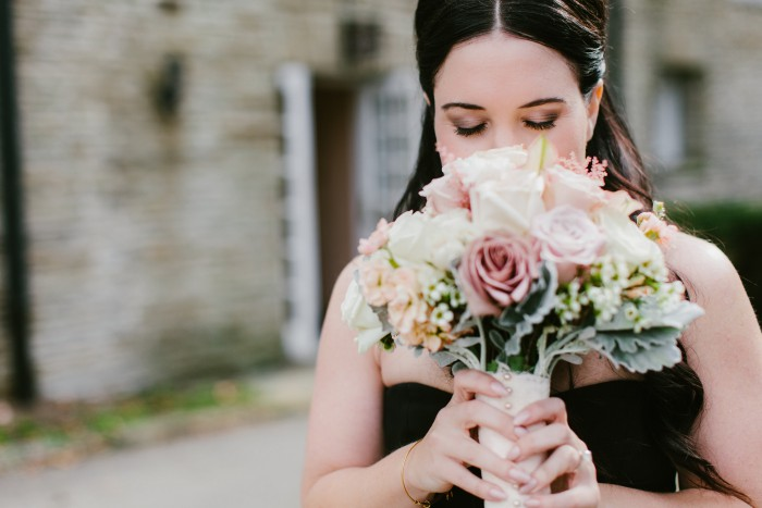 Edgy Romantic Pittsburgh Wedding at the Longue Vue Club - Beth Insalaco Photography
