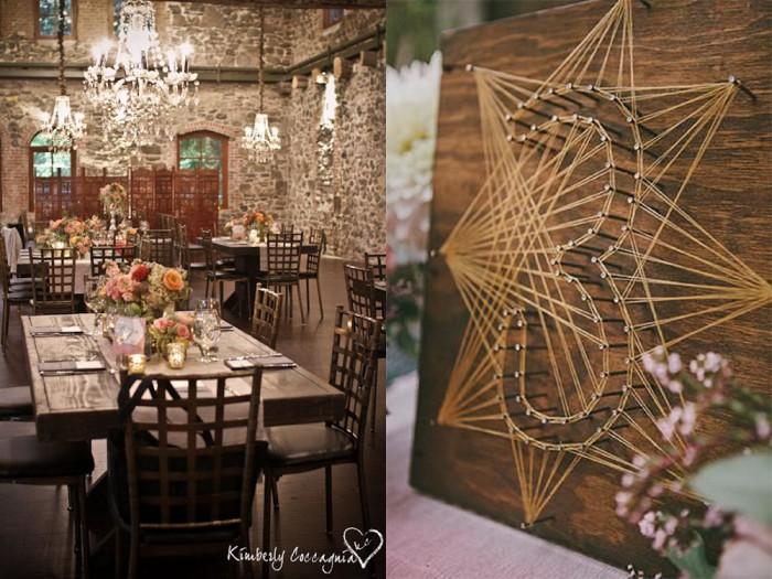 Left: Kimberly Coccagnia via New York Wedding Maven; Right: Dear to my Art via Refinery 29