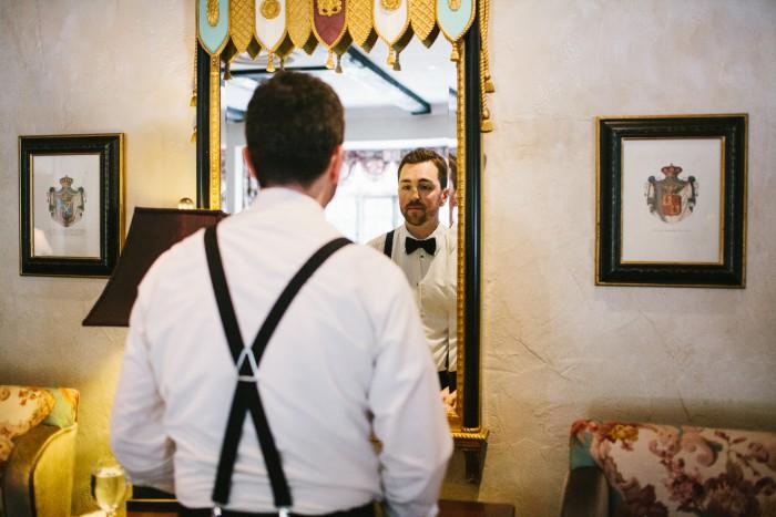 Romantic Pittsburgh Wedding: Nate & Kelly at Longue Vue Club - Beth Insalaco Photography