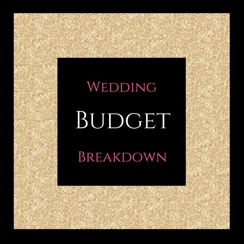 wedding budget breakdown burgh brides