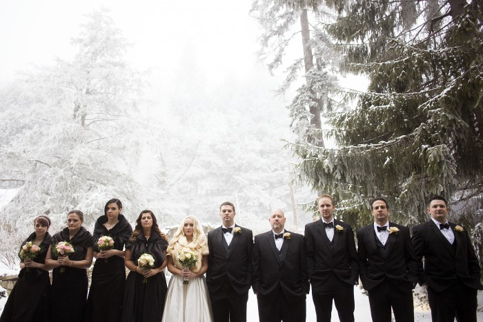 Snowy Ski Resort Pittsburgh Wedding - Kelsey Kradel Photography