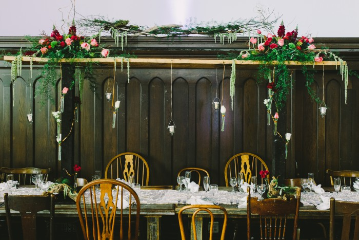 UnVeiled - A Stylized Wedding Reception - Steven Dray Images