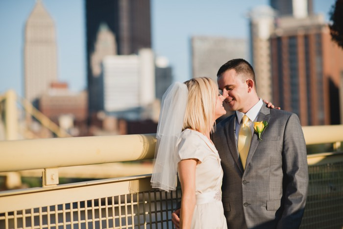 Vintage Budget Friendly Pittsburgh Wedding by Ashleigh Saylor Photography Featured on Burgh Brides