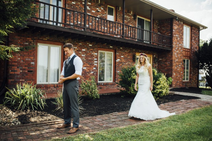 Backyard DIY Summer Pittsburgh Wedding on Burgh Brides - Mandy Fierens Photography