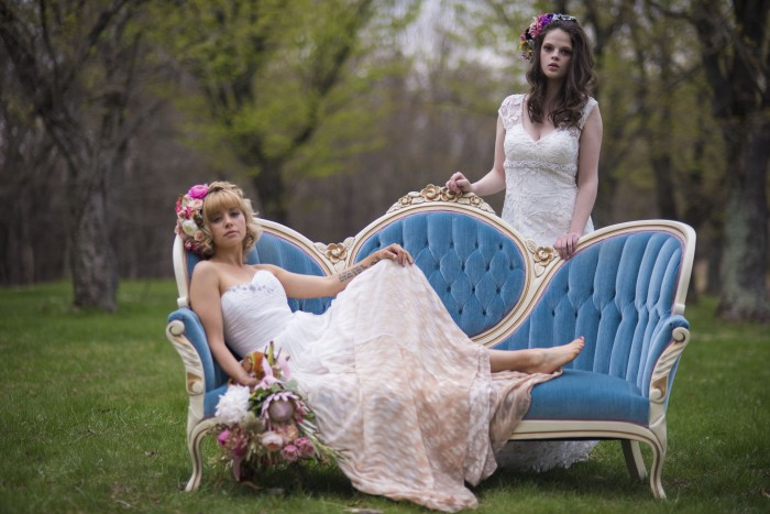 Spring Inspired Styled Shoot from Krystle Castille Photography Featured on Burgh Brides