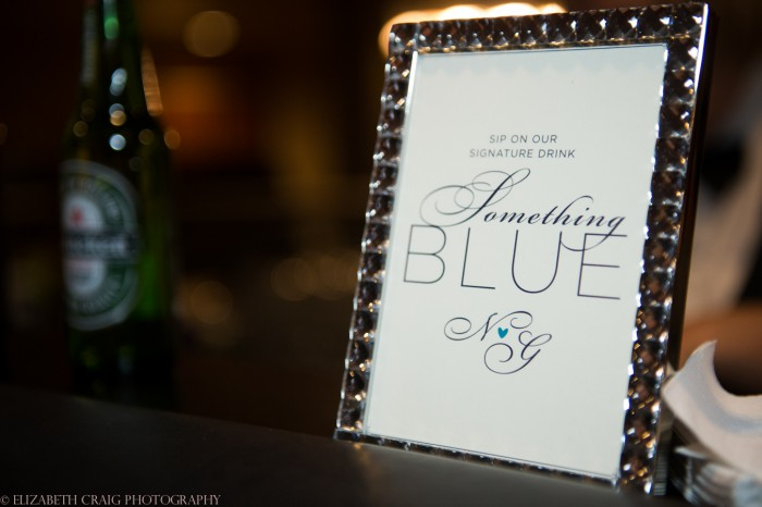 10 Something Blue Ideas from Burgh Brides