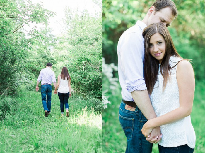 Highland Park Pittsburgh Engagement Session by Ashley Giffin Photography Featured on Burgh Brides