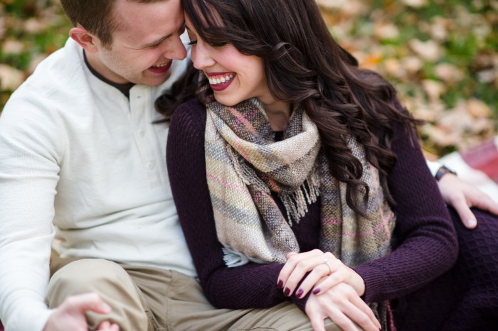 Dichotomous Engagement Session from Michael Will Photography Featured on Burgh Brides