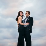 Fall Foliage & Downtown Pittsburgh Engagement Session from Michael Will Photography Featured on Burgh Brides