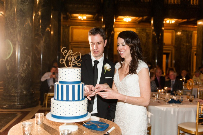 Chic Navy & Gold Pittsburgh Wedding by Leeann Marie, Wedding Photographers Featured on Burgh Brides
