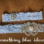 Something Blue Ideas from Burgh Brides