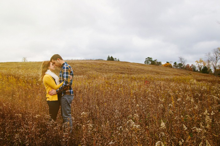 Crisp Fall Pittsburgh Engagement Session by Lindsey Zern Photography Featured on Burgh Brides