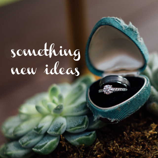 10 Ideas for Something New from Burgh Brides