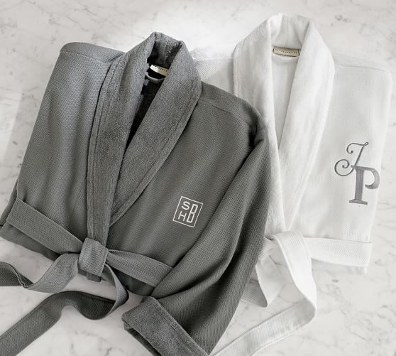Organic Spa Robe from Pottery Barn - Second Anniversary Gift Ideas from Burgh Brides