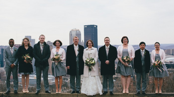 Classic Art Deco Pittsburgh Wedding at the Grand Concourse from Ryan Zarichnak Photography Featured on Burgh Brides