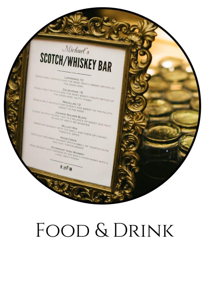 Burgh Brides Vendor Guide: Food & Drink