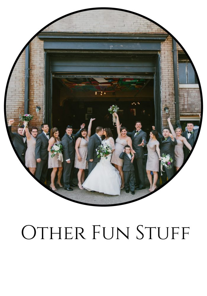 Burgh Brides Vendor Guide: Other Fun Stuff