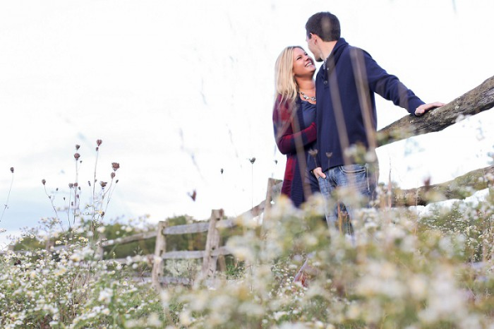 Farm & Field Pittsburgh Engagement Session from Carissa McClellan Photography Featured on Burgh Brides