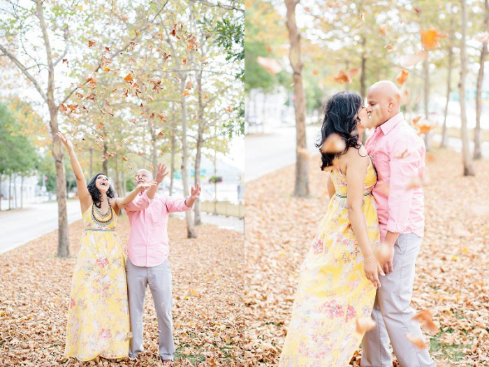Glowing Downtown Pittsburgh Engagement Session from Lauren Renee Designs Featured on Burgh Brides