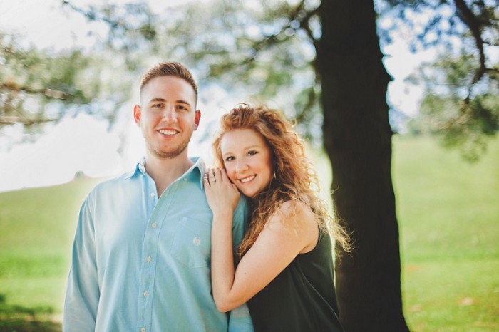 Mingo Creek Park Pittsburgh Engagement Session from La Candella Weddings Featured on Burgh Brides