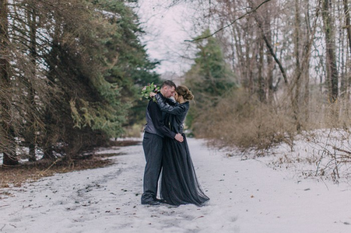 Twisted Fairy Tale Pittsburgh Engagement Session from Kelsey Kradel Photography Featured on Burgh Brides
