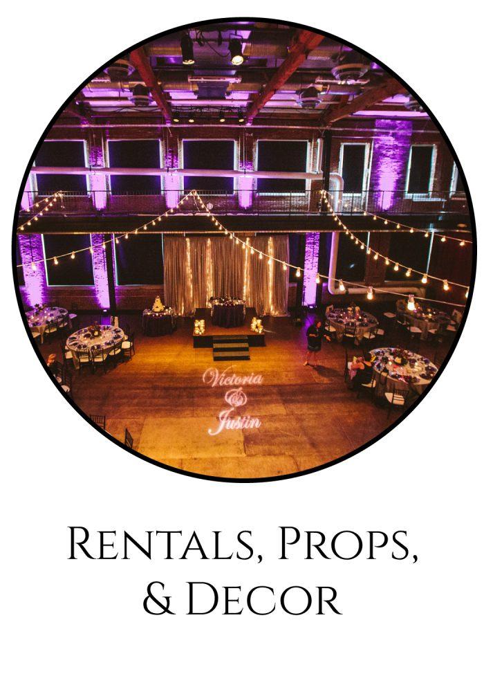 Burgh Brides Vendor Guide: Rentals, Props, & Decor