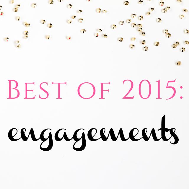 Burgh Brides Best of 2015: Engagements