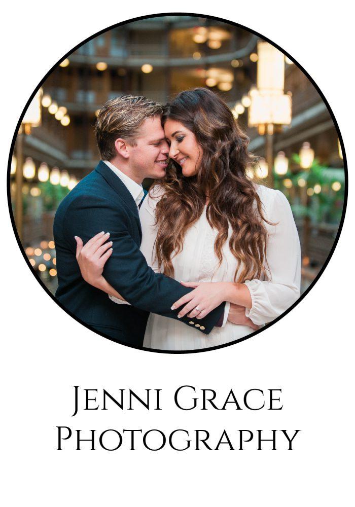Burgh Brides Vendor Guide Member: Jenni Grace Photography