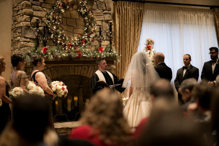 Christmas Wedding at Bella Sera by Dena Galie Photography Featured on Burgh Brides