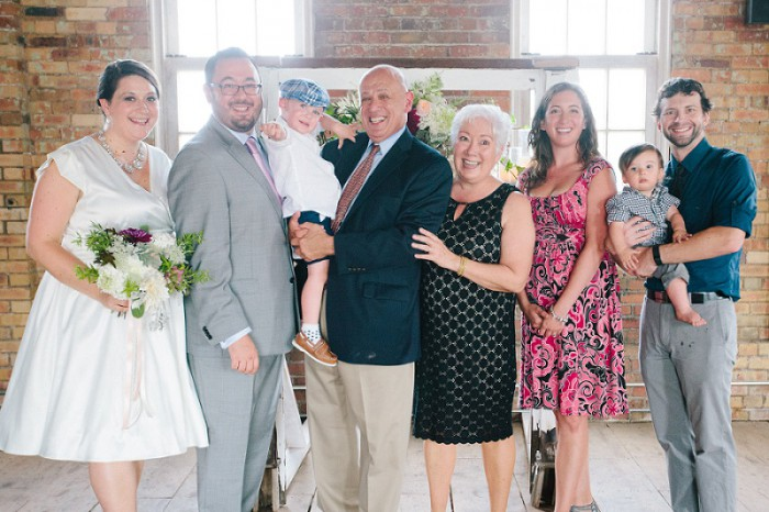 Pop Up Pittsburgh Wedding at the Pump House by Nicole Cassano Photography Featured on Burgh Brides