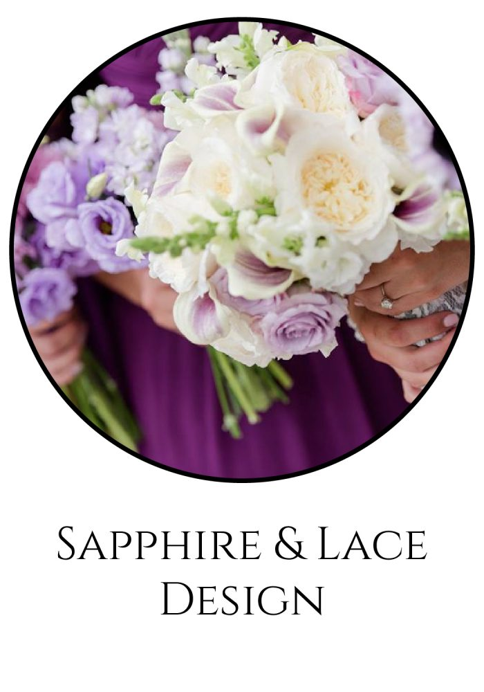 Burgh Brides Vendor Guide Member: Sapphire & Lace Design