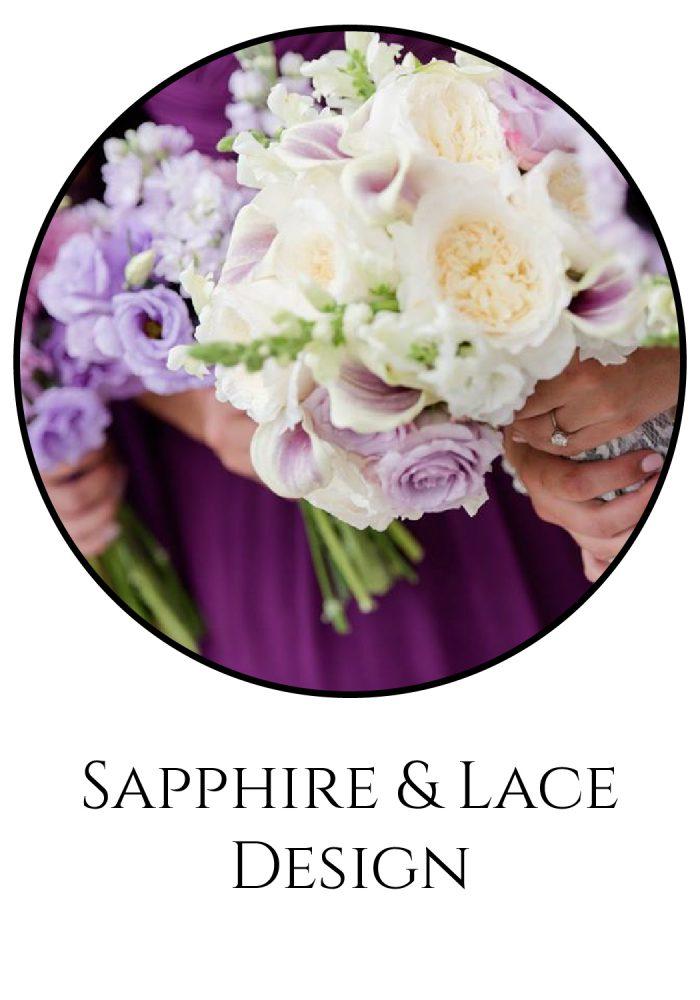 Burgh Brides Vendor Guide Member: Sapphire & Lace Design