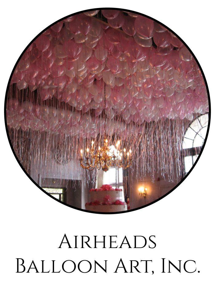Burgh Brides Vendor Guide Member: Airheads Balloon Art, Inc.