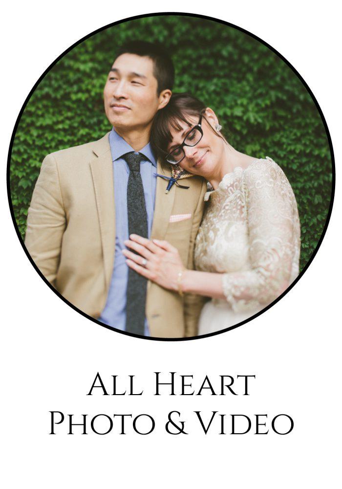 Burgh Brides Vendor Guide Member: All Heart Photo & Video