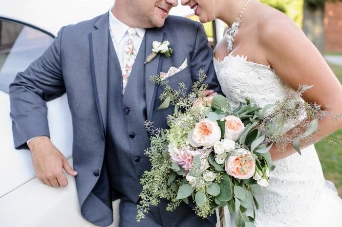 Organic Style Wedding Inspiration from Burgh Brides