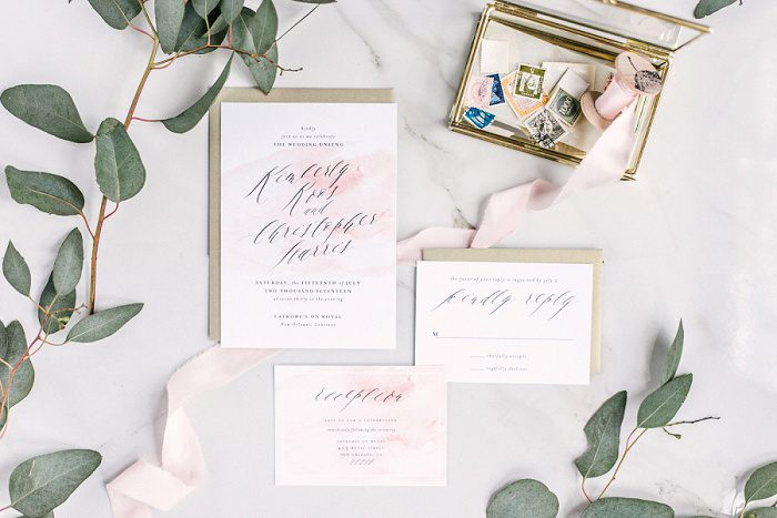 Blush Paper Co. - Pittsburgh Wedding Stationery Designer & Burgh Brides Vendor Guide Member