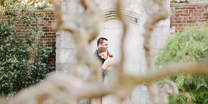 Secret Garden Inspired Engagement Session: Dana & Taylor
