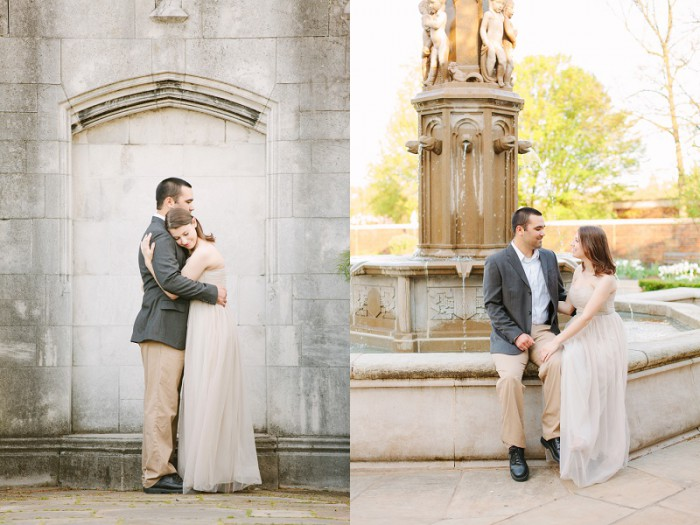 Secret Garden Inspired Pittsburgh Engagement Session from Kelly Adrienne Photography Featured on Burgh Brides