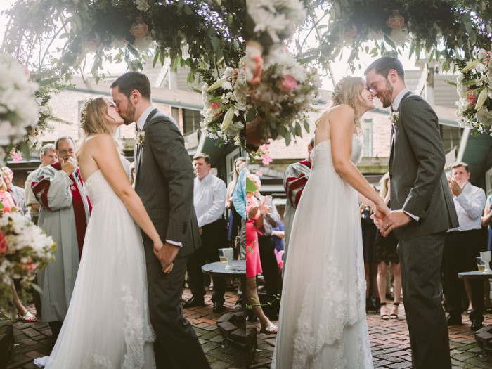 Charming Laid-Back Pittsburgh Wedding at Morning Glory Inn from Rachel Rowland Photography Featured on Burgh Brides