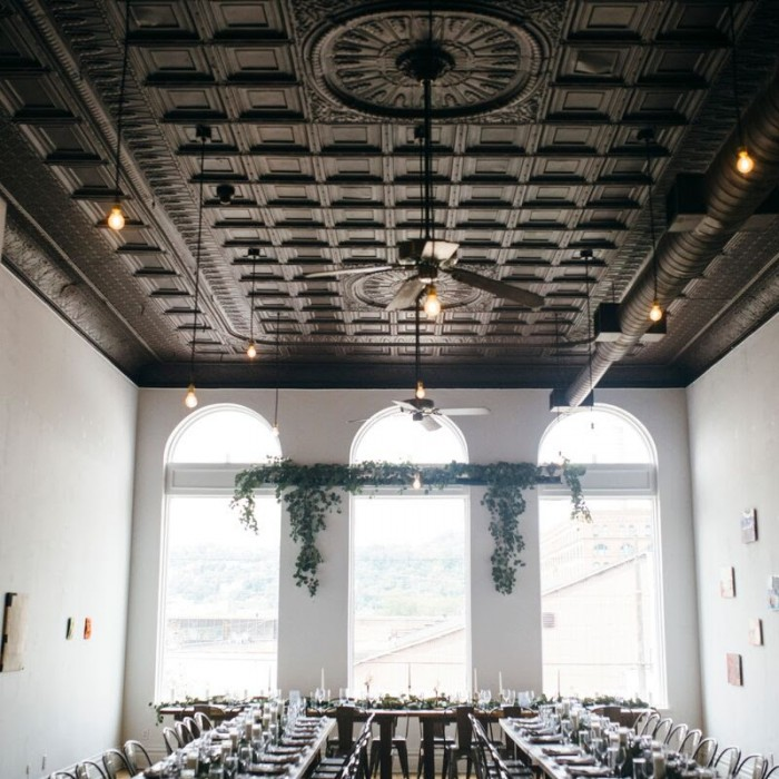 The Union Hall at Bar Marco - Pittsburgh Wedding Venue & Burgh Brides Vendor Guide Member