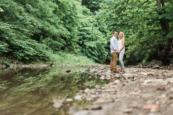 Country but Classic Pittsburgh Engagement Session from Sky's the Limit Photography Featured on Burgh Brides