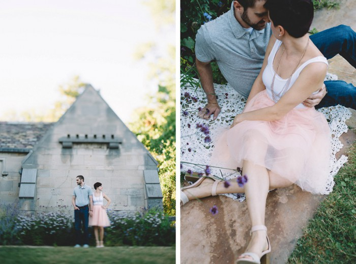 Hartwood Acres & Station Square Pittsburgh Engagement Session from Oakwood Photography Featured on Burgh Brides