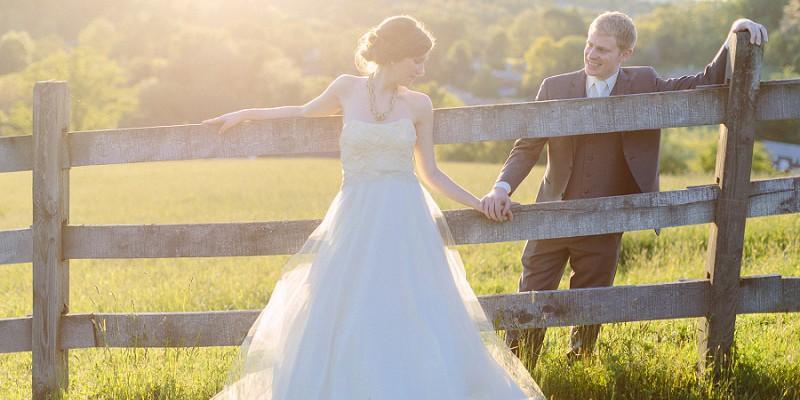 Shabby Chic Wedding at Destiny Hill Farm: Stacy & Timothy
