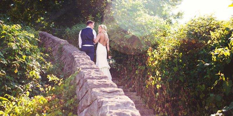 Chic & Fresh Outdoor Wedding at the Hyatt House: Kristin & Stephen