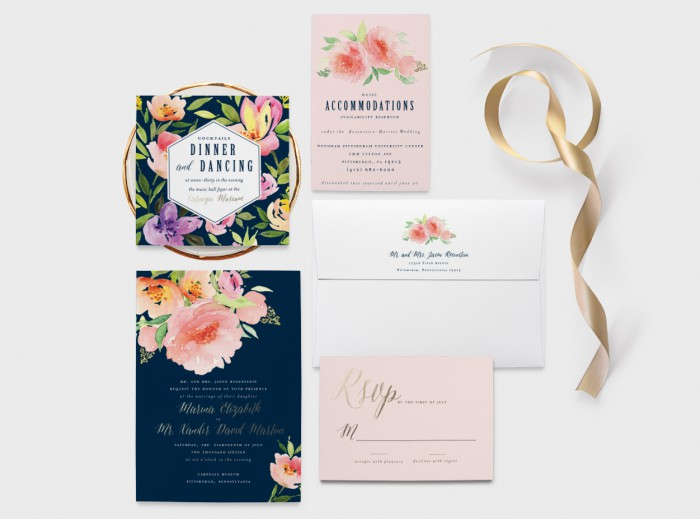 Burgh Brides Vendor Guide Member: Blush Paper Co.