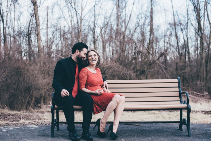 Woodsy & Playful Pittsburgh Anniversary Session from Levana Melamed Photography Featured on Burgh Brides